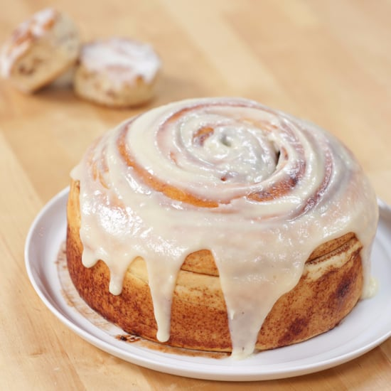 Supersize Cinnamon Roll Recipe