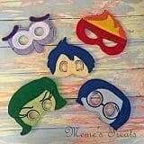 Inside Out Feelings Masks