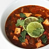 Lunch: Chicken Tortilla-Less Soup