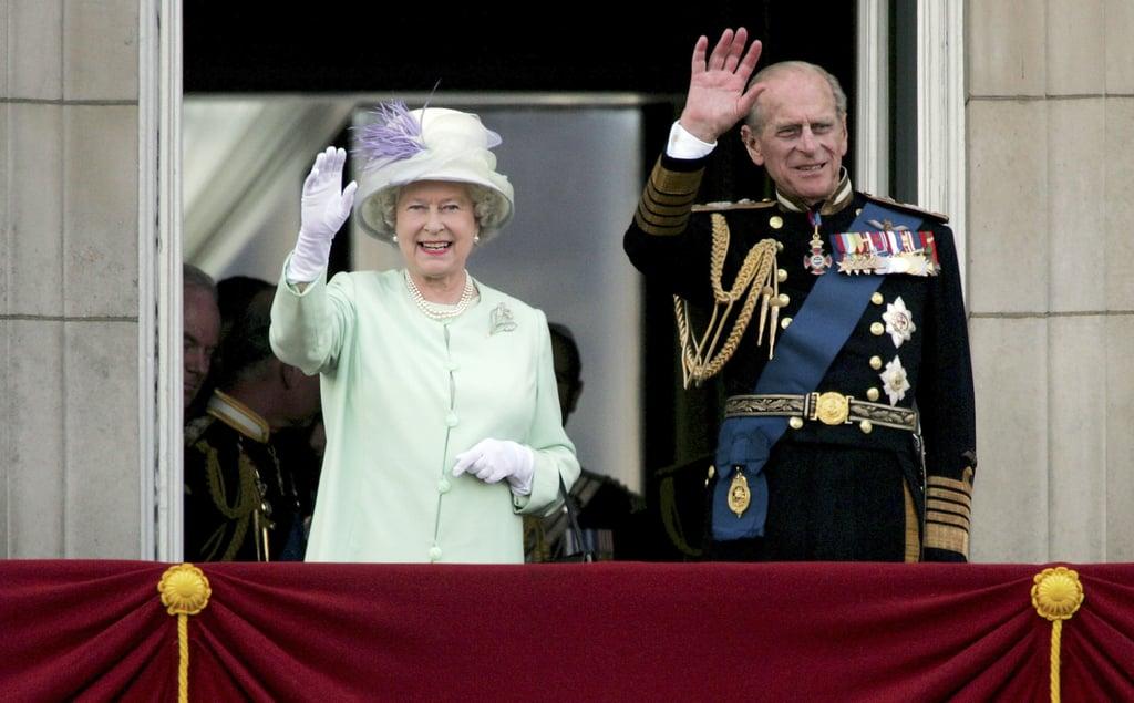 الأشخاص: الملكة إليزابيث الثانية والأمير فيليب