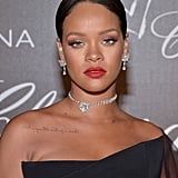 Rihanna Wearing Jewellery From the Rihanna x Chopard Collection