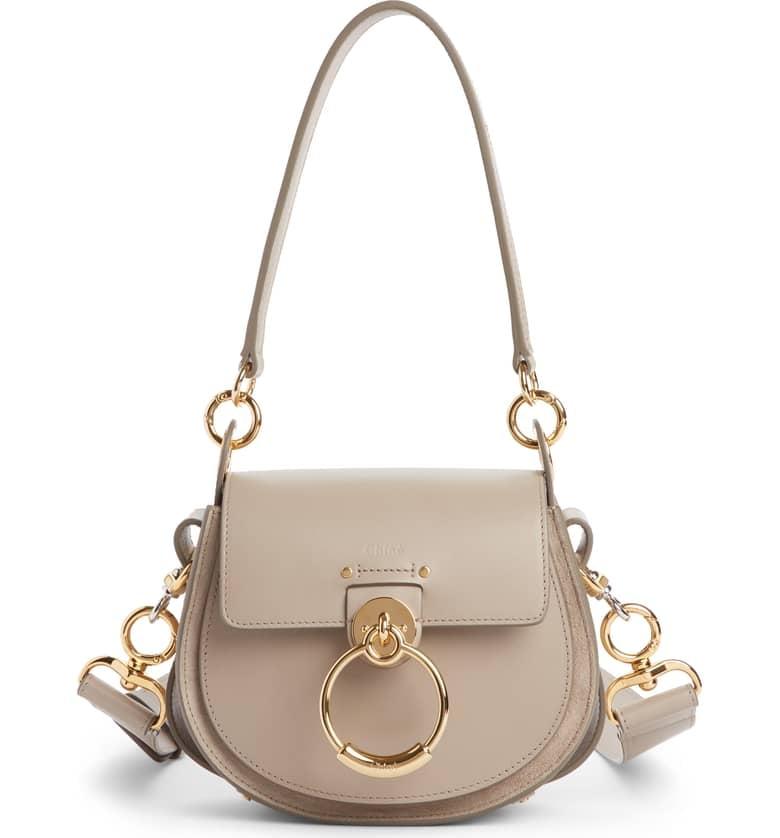 c1e8bb3e Chloé Small Tess Calfskin Leather Shoulder Bag | Designer Bags on ...