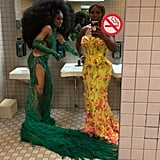 Serena Williams and Ciara Took 5 in the Bathroom Together