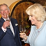 Prince Charles and his wife, Camilla, tasted wine during their trip to Vienna, Austria.