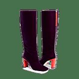 Wandler Isa Long Boot Purple Magic