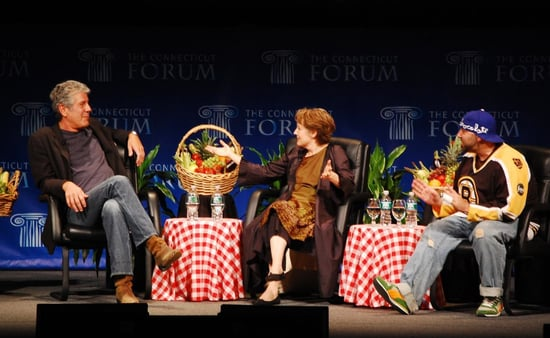 Video of Anthony Bourdain, Alice Waters, and Duff Goldman at Food Forum