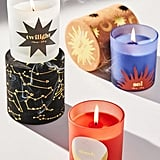 Flocked Box Candle