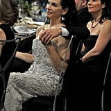 Julianna Margulies and her husband showed love.