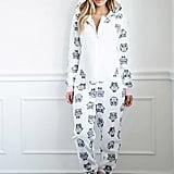 Owl Plush PJ Jumpsuit