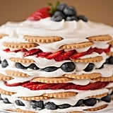 Coconut Berry Icebox Cake