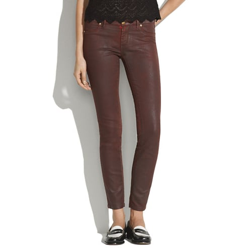 Between the coated finish and vintage-looking wash, I'm totally drawn to these Blank NYC Skinny Coated Jeans ($88). It'll provide my more casual denim ensembles with a slicker finish — plus, with a leather jacket, this combo has the potential to hit downtown-cool status. — Marisa Tom, associate editor
