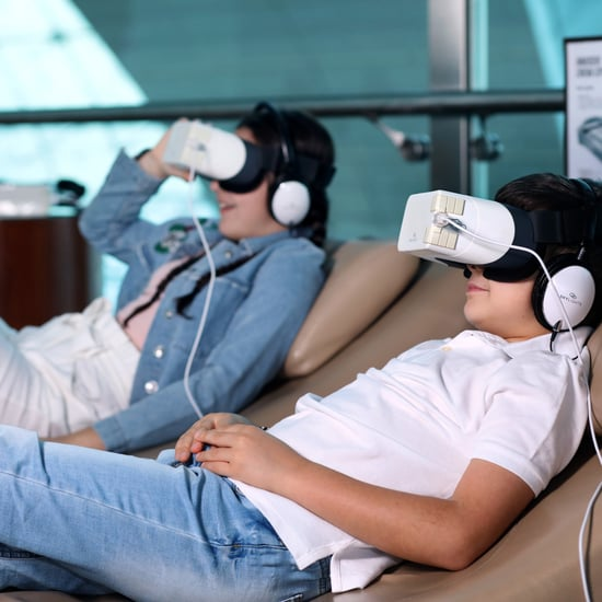 Emirates Airline Skylight Entertainment Headsets
