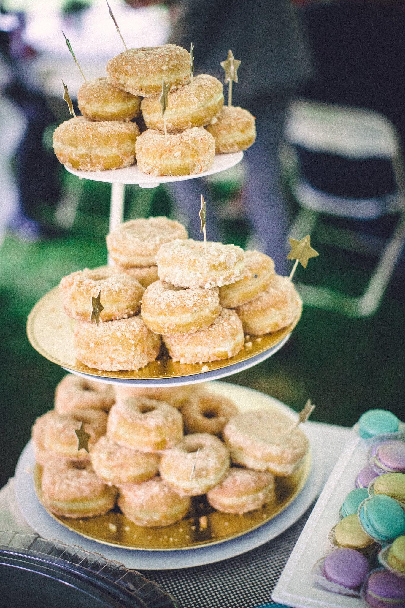 Doughnuts as a Wedding Cake Alternative | POPSUGAR Food