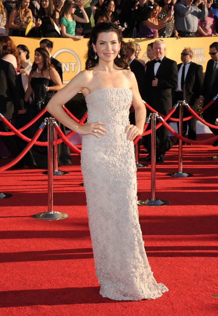 Julianna Margulies in Calvin Klein at the SAG Awards.