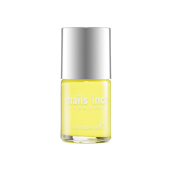 Hey there, sunshine! A couple coats of Nails Inc. Belsize Park ($10) on your toes will brighten up any pair of shoes. This perky shade of yellow is slightly pastel, making it even more wearable.