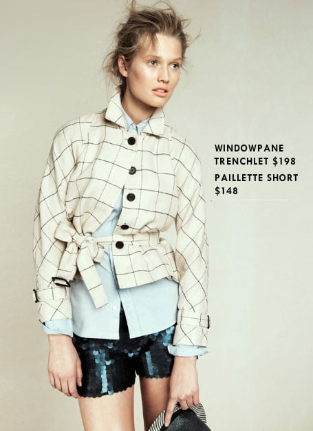 Skip: Windowpane Trenchlet ($198)