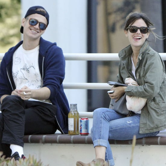 Pictures of Rachel Bilson and Hayden Christensen at Lunch