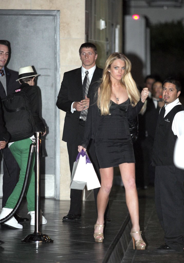 Beckinsale, Beckam, Longoria-Parkers, Lohan Allure and Party