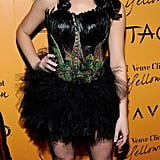 Ashley Greene ruffled some feathers in a sexy peacock costume while attending a party in Vegas in 2009.