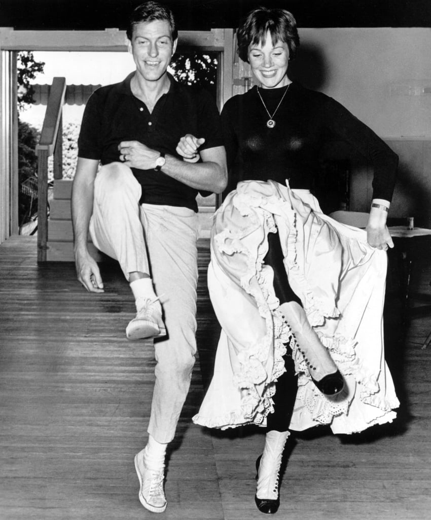 Dick Van Dyke And Julie Andrews Then And Now