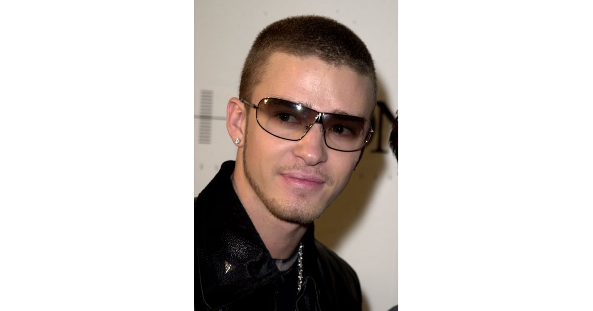 And With a Buzz Cut and Tinted Glasses, Too | 22 Things Only Die-Hard,  Longtime Justin Timberlake Fans Understand | POPSUGAR Celebrity Photo 5