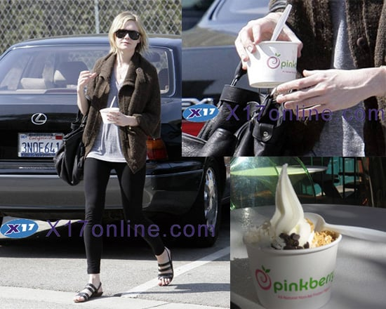 Kirsten Dunst Loves pinkberry, But Will You?
