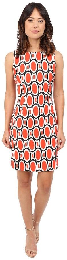 Christin Michaels Imogen Twill Sheath Dress ($69)