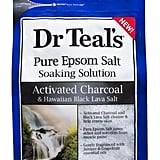 Dr. Teal's Pure Epsom Salt Soaking Solution Activated Charcoal & Hawaiian Black Lava Salt