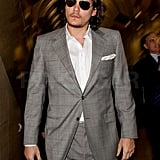 John Mayer Suits Up to Touch Down in LA