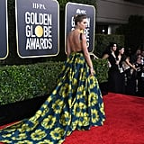 Taylor Swift Wears Etro Couture Gown to Golden Globes