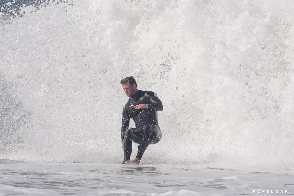 Let Chris Hemsworth Give You a Sexy Surfing Lesson