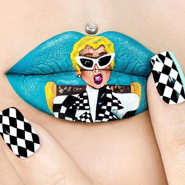 Pop Culture Lip Art Popsugar Beauty Australia
