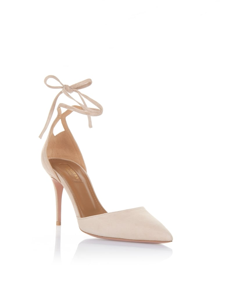 The Exact Aquazzura Heels She Wore and Shop Similar Versions of Her Entire Look Below