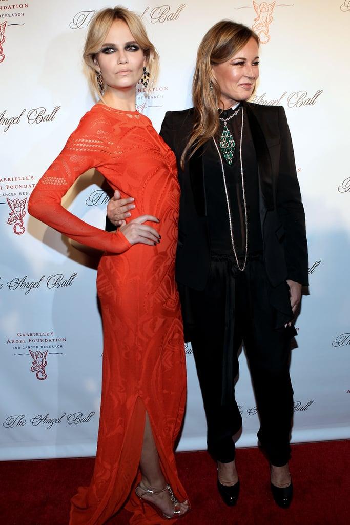 Natasha Poly and Eva Cavalli