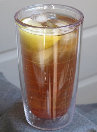 Iced tea is a Summer staple. This spiked cherry tea is sure to quench your thirst.