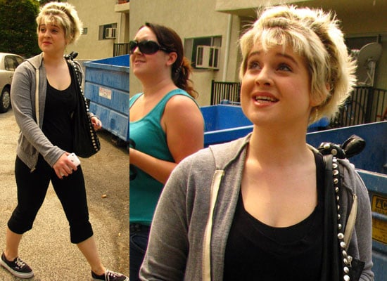 Photos Of Kelly Osbourne Heading In To Training For Dancing With The Stars