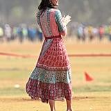Kate Middleton in Her Anita Dongre Customized Dress