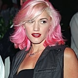 Gwen Stefani With Pink and Blond Hair