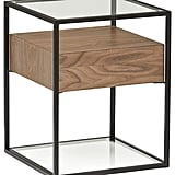 Rivet King Street Industrial Floating Side Table Night Stand