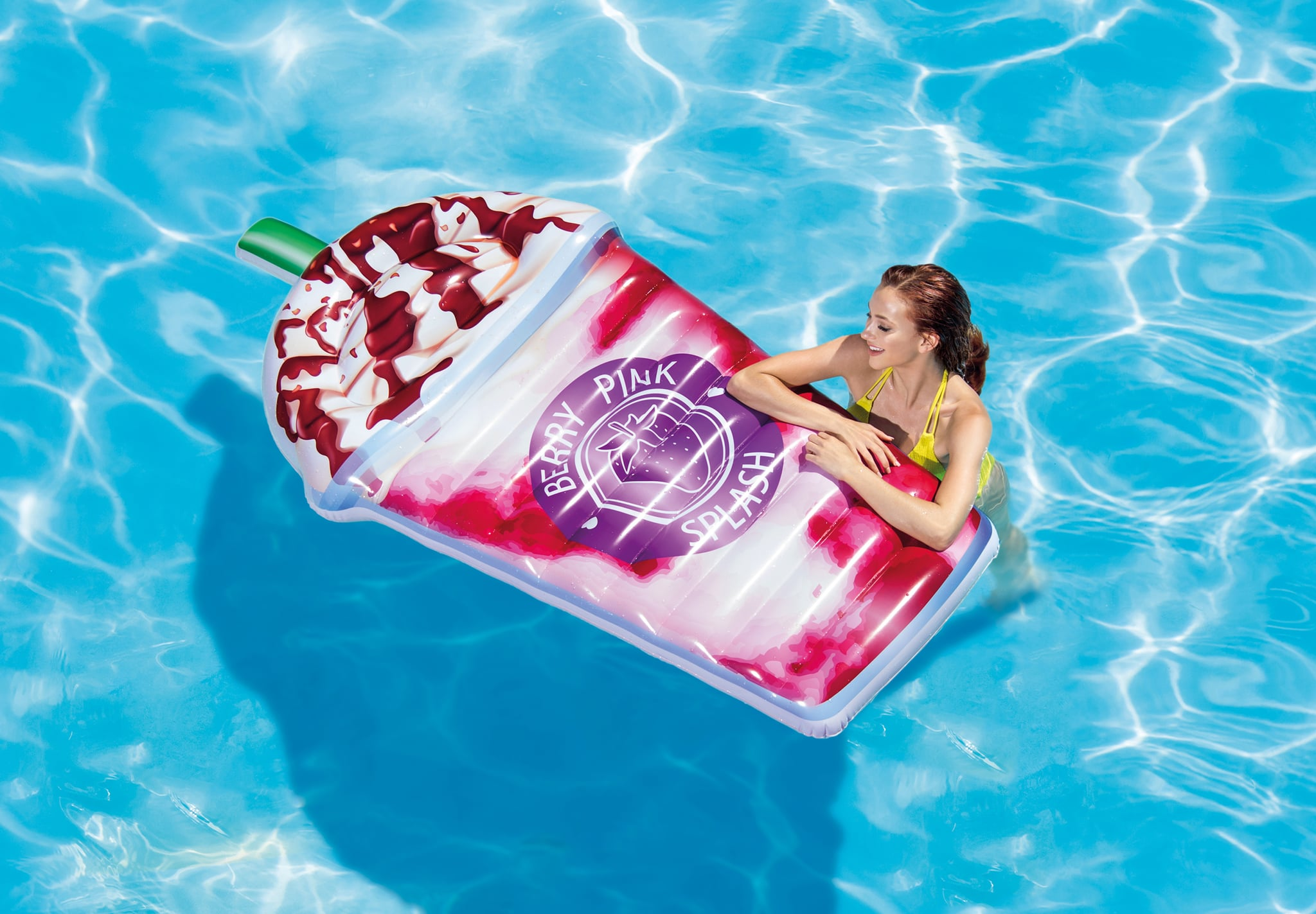 Frappuccino Inspired Pool Float Popsugar Family