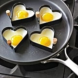 Heart-Shaped Egg Rings
