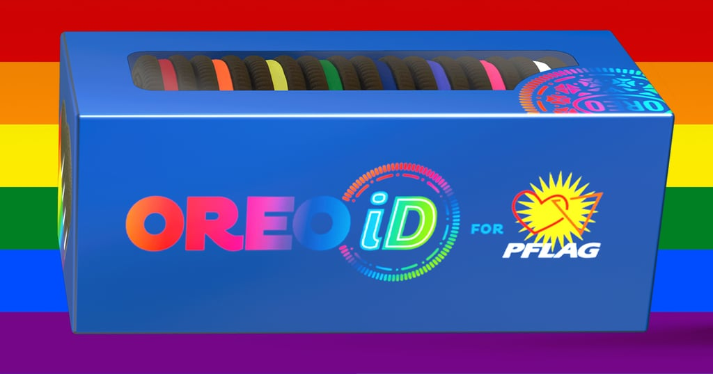 OREOiD Pride Flag Rainbow Cookie Packs 2021