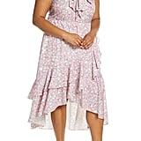 Eloquii Ruffle Detail High Low Dress