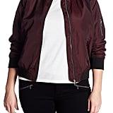 Sebby Plus-Size Bomber Jacket