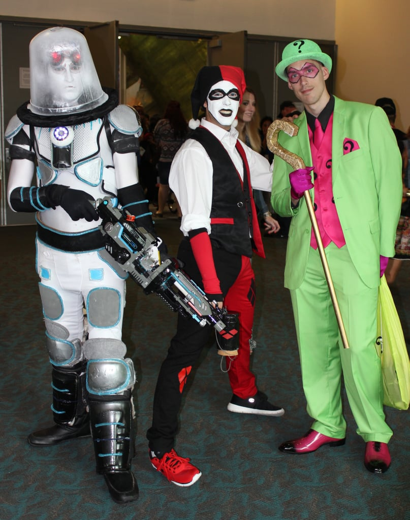 Mr. Freeze, Harley Quinn, and The Riddler