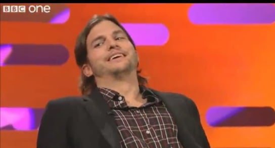 Video of Ashton Kutcher Talking About Asking Out Jennifer Aniston