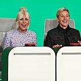Lady Gaga on The Ellen DeGeneres Show 2018