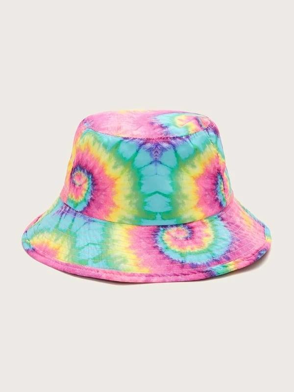 Shein Tie Dye Pattern Bucket Hat