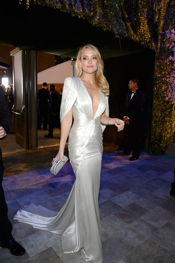 Kate Hudson made a glamorous arrival.