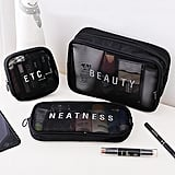 Mesh Cosmetic Storage Bag